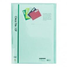 투명클리어화일A4(10매)녹색