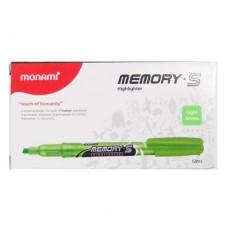 모나미형광펜(녹색)1타