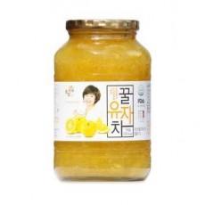 꽃샘 꿀유자차 1kg