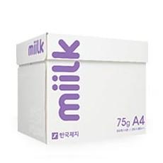 한국제지밀크75gA4 1BOX