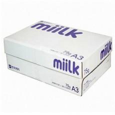 밀크A3 복사지1BOX75g